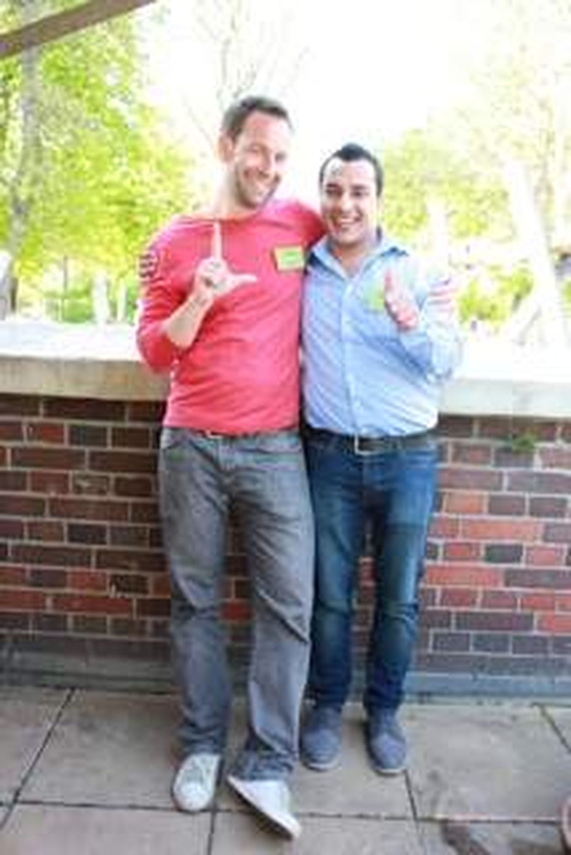 Let's integrate! co-founders Lasse Landt and Khaled Alaswad