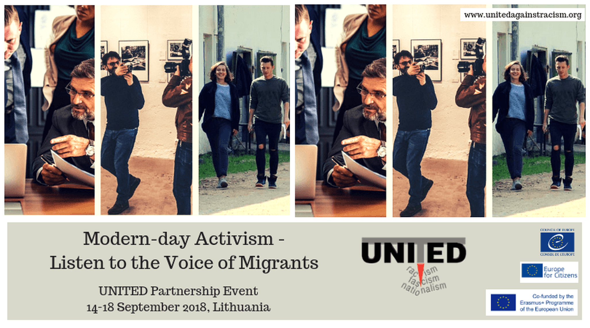 Modern-day Activism - Listen to the Voice of Migrants