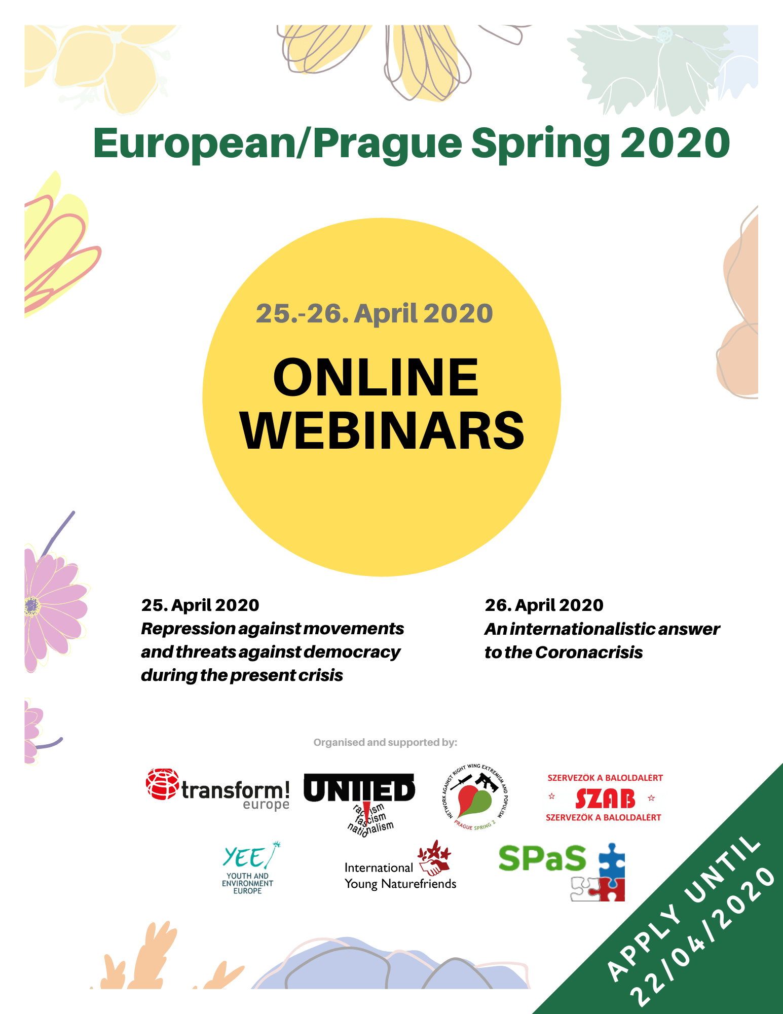 European_Prague Spring 2020 webinars